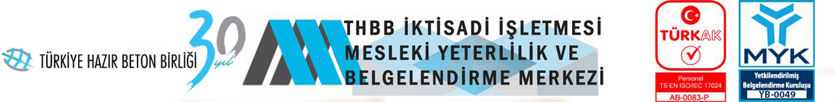 Türkiye Hazır Beton Birliği Mesleki Yeterlilik Merkezi